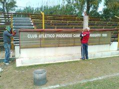 Reforma no Estádio do Progreso