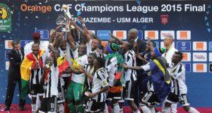 Mazembe celebra o pentacampeonato continental