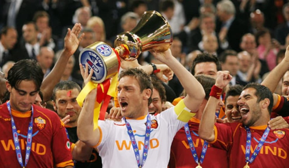 AS Roma Copa da Itália 2007/08