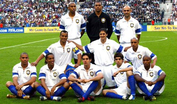 Amistoso Brasil França 2004