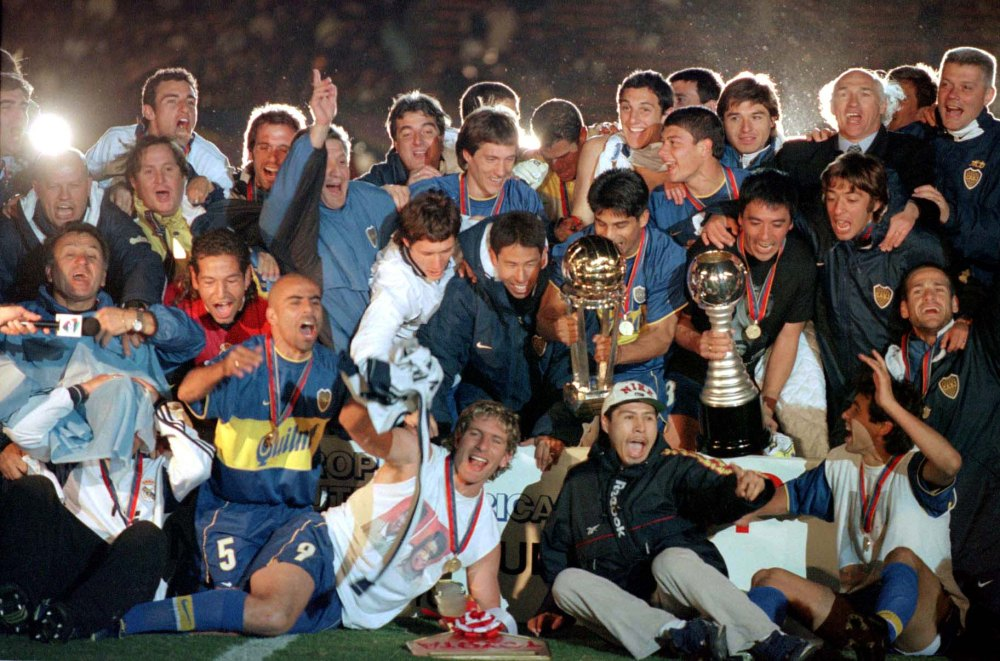 Boca Juniors x Real Madrid 2000