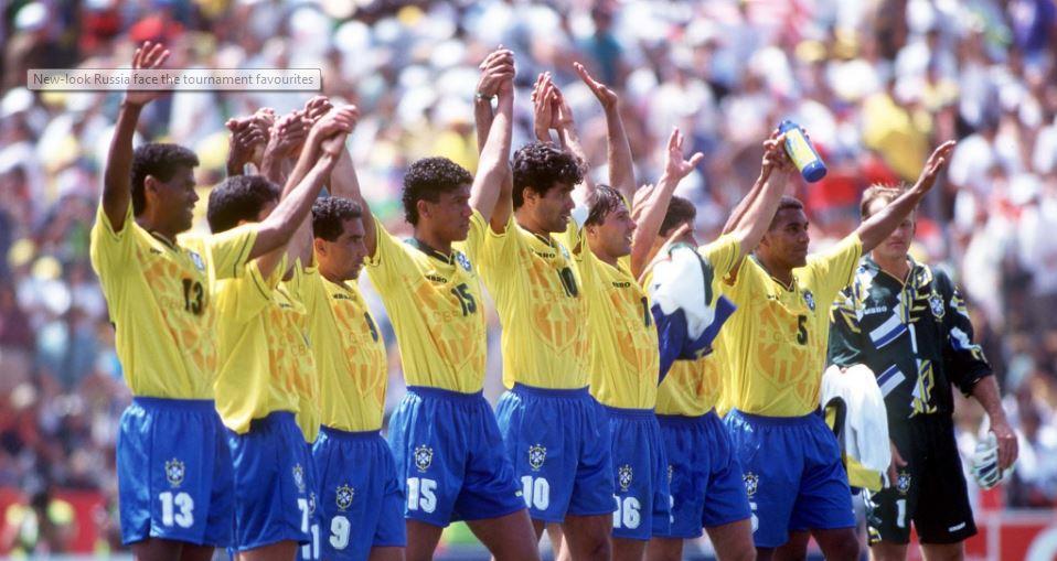 Brasil vs Rússia 1994 - Copa do Mundo