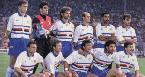 Sampdoria Liga dos Campeões 1991/92