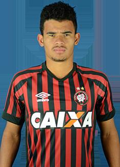 Atlético-PR - Breno Cantão - 19 anos - Lateral-direito