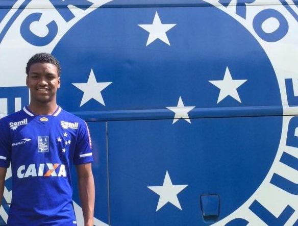 Cruzeiro- Caio Rangel - 20 anos- Atacante