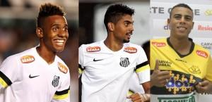 2014 - Diego Cardoso (Santos), Stéfano Yuri (Santos) e Gustavo (Taboão) - 9 gols