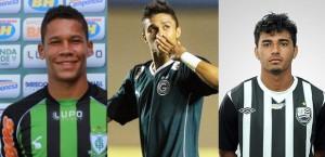 2013: Caio Dantas (Audax), Erik (Goiás) e Diego Ceará (Mogi Mirim) - 8 gols