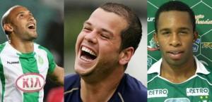 2008: Rafael Martins (Grêmio), Tiago Luís (Santos) e Vinicius Ramos (Taboão) - 8 gols