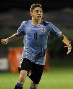Federico Valverde – Uruguai - 22/06/1998 - Meio-campista