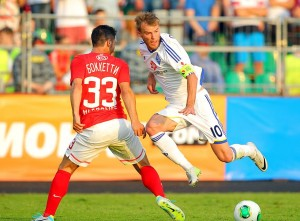 Dínamo de Kiev x Spartak Moscow