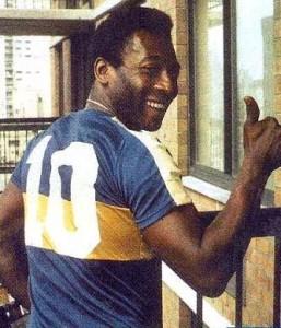 Pele-Boca-Juniors